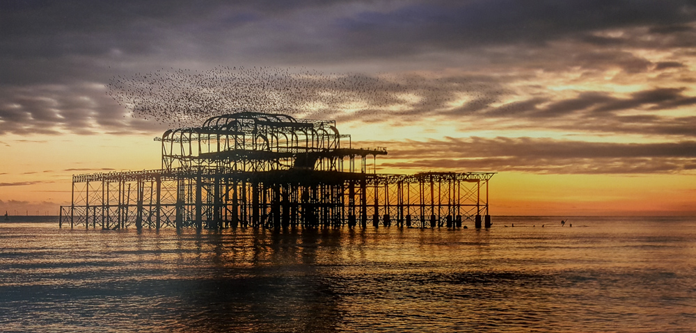 1. Helen Moore - Brighton West Pier