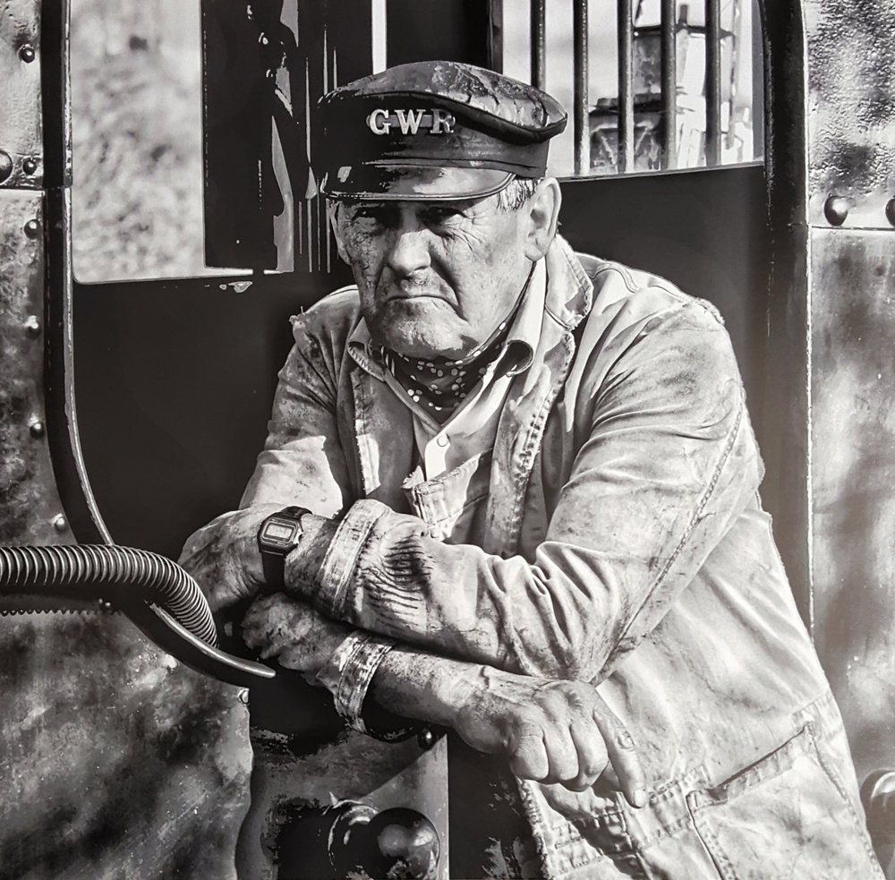 1. Phil Saundry - Steam Engine Driver