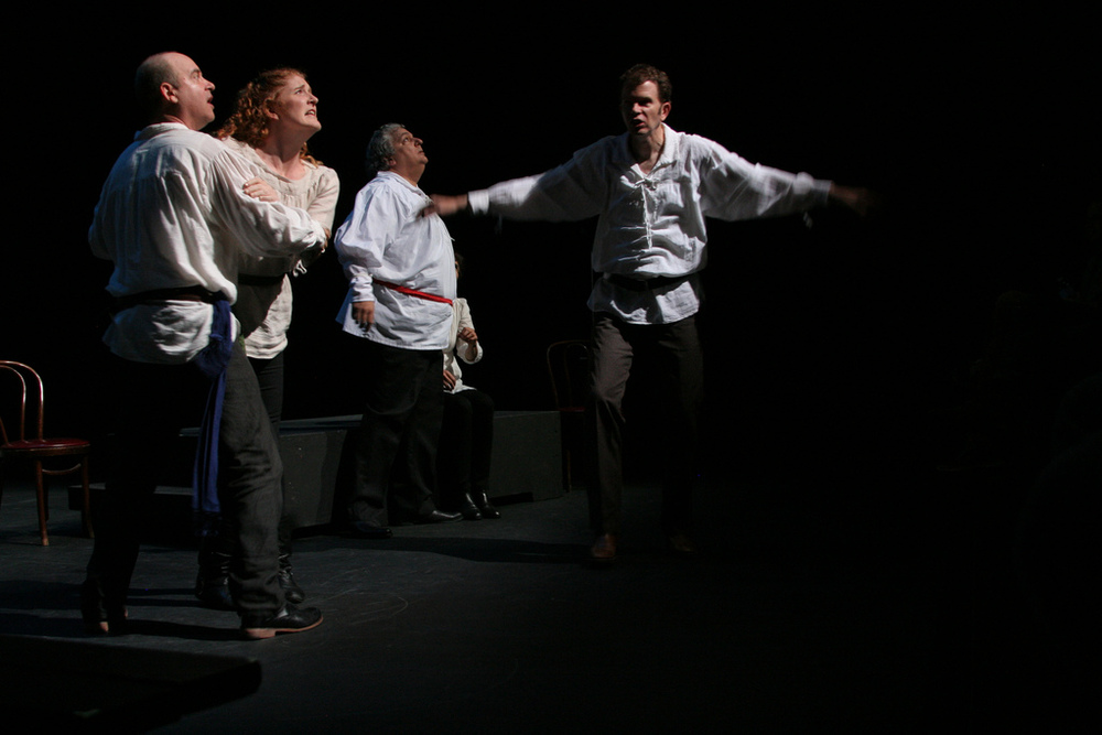 Improvised Shakespeare.  Black Box Comedy Festival