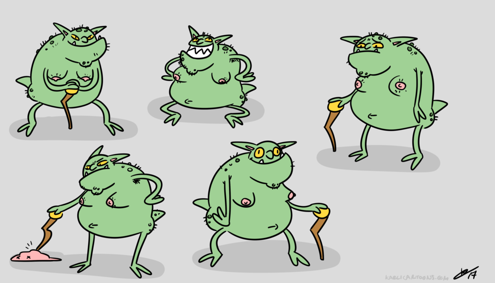 Troll Expressions KarliCartoons.png