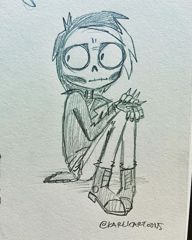 I drew @gangle_grit in church today since I'm trying to establish a consistent style for him! I have a few ideas for drawings I wanna do with him, so I gotta design him first! #karlicartoons #ganglegrit #doodle #churchdoodle #traditionalart #cartoon #hardcore #edgy #cute #emo #dark #goth #twitch #streamer #videogames #ganglepit