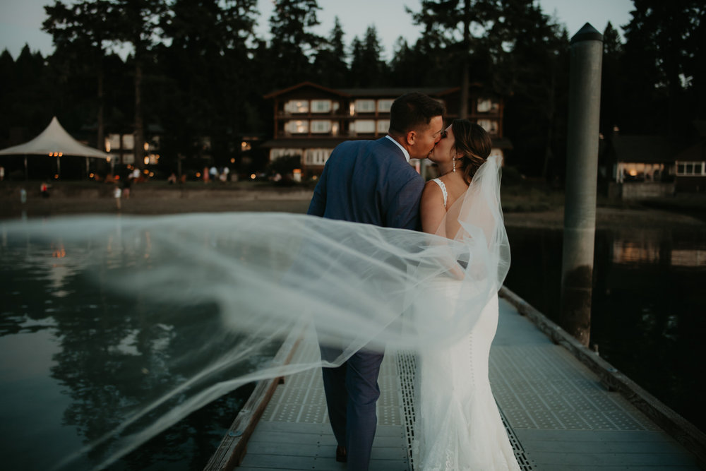 Alderbrook Resort Union, WA/ Wedding -