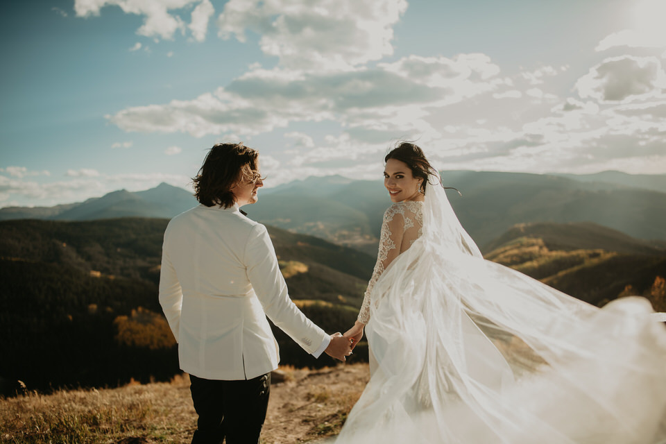"Vail, CO / Wedding - ""Meg took both our engagement and wedding photos and was nothing short of incredible. She made us feel very at ease every step of the way and because of that, our pictures came back better than we could have hoped for. She has a wonderful eye and took photos that we would have never thought to take. Meg is personable, professional, and was a joy to work with from beginning to end. We cannot recommend her highly enough and want to sincerely thank her for her part in making our wedding so special, and for giving us the perfect collection of photos to remember our day.""- JW & Ashlee -"
