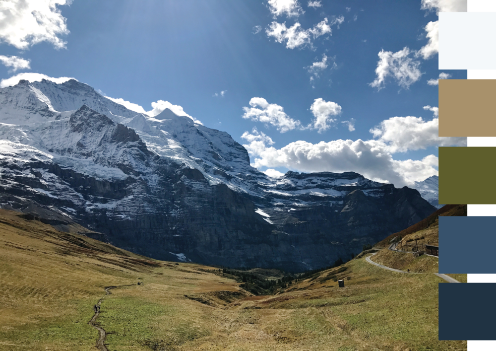 Bernese Alps - earthy