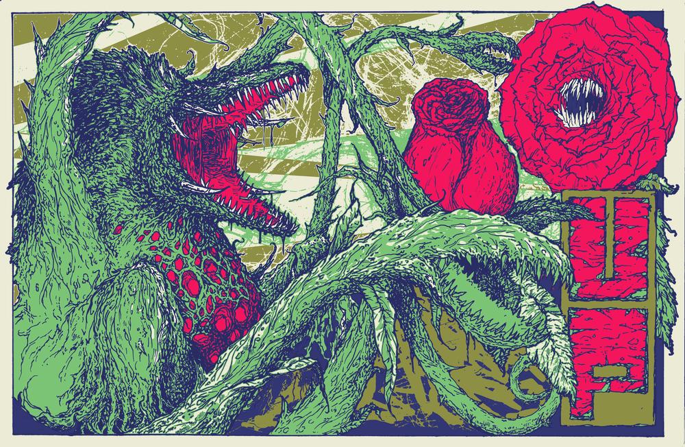 U.P. Promotional ComicCon Poster Biollante