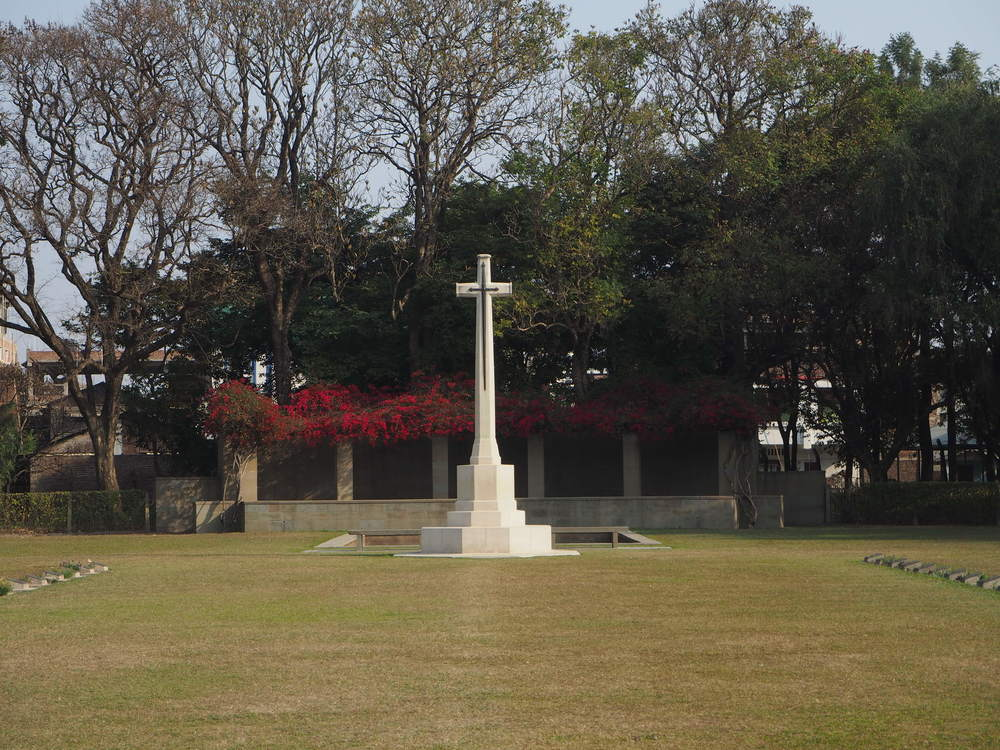 Imphal War Cemetery is impeccably maintained by the Commonwealth War Graves Commission