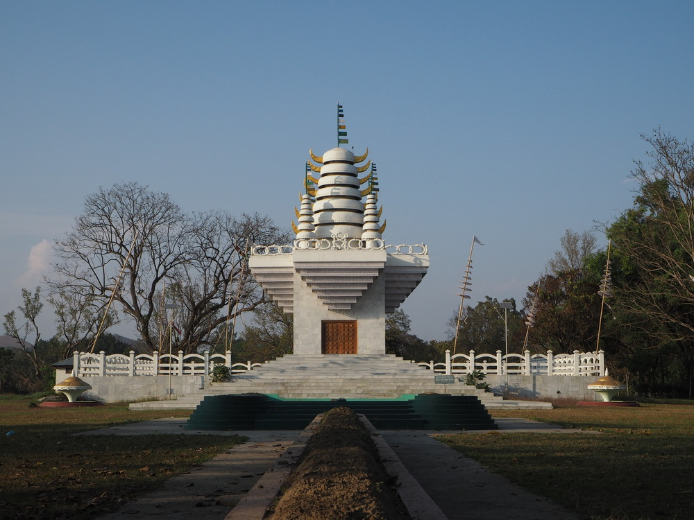 Pakhangba Temple is found within the old Kangla Fort