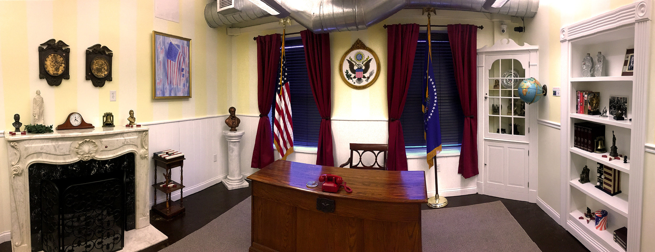 Red Herring Escape Rooms — The Oval-ish Office - Red Herring Escape ...