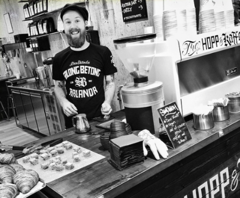 Jonny Hicks  is an american coffee professional who has been making coffee for 5 years. He is the 2016 Swedish Cup Tasters Champion.