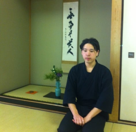 Goro Bertz  has specialized in japanese cooking and japanese tea ceremony for 8 years in Tokyo. He is now living and working in Sweden.