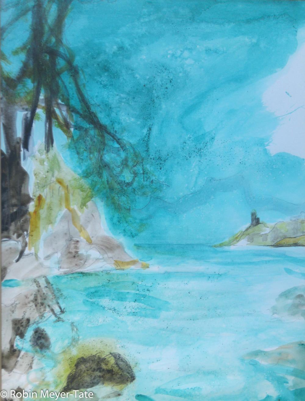 """Watercolor  14"""" x 11"""""""