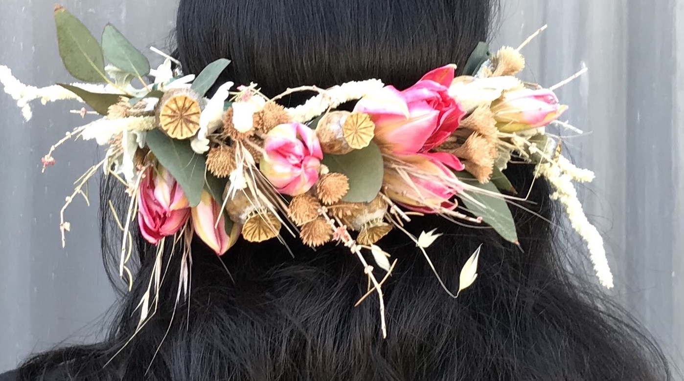Summer Solstice Flower Crown Workshop June 21st 530 730pm