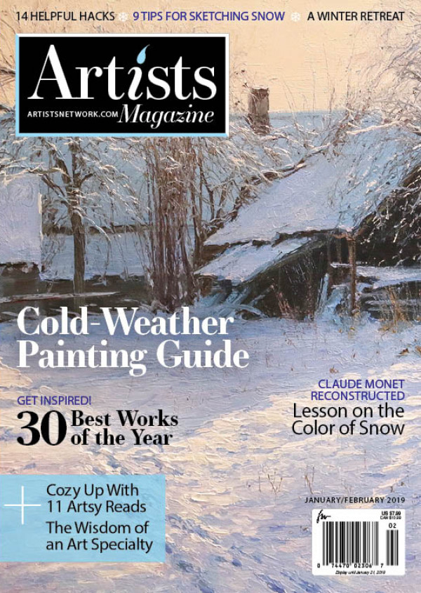 "Artists Magazine, ""  Eye on Excellence 