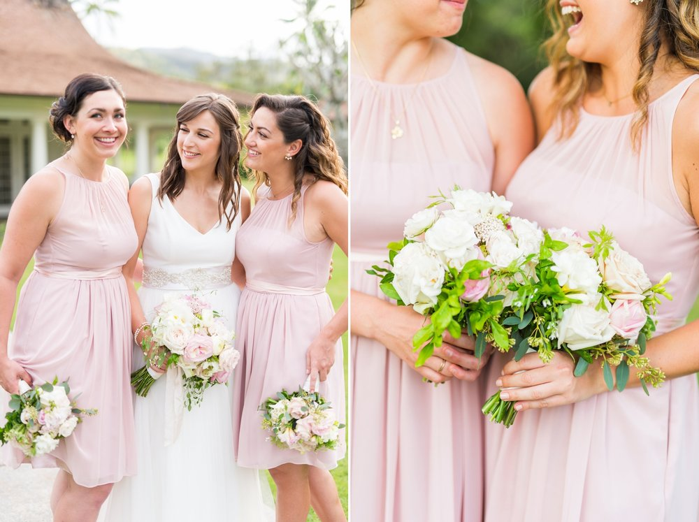 Hawaii Wedding_Dillingham Ranch_Bridesmaids