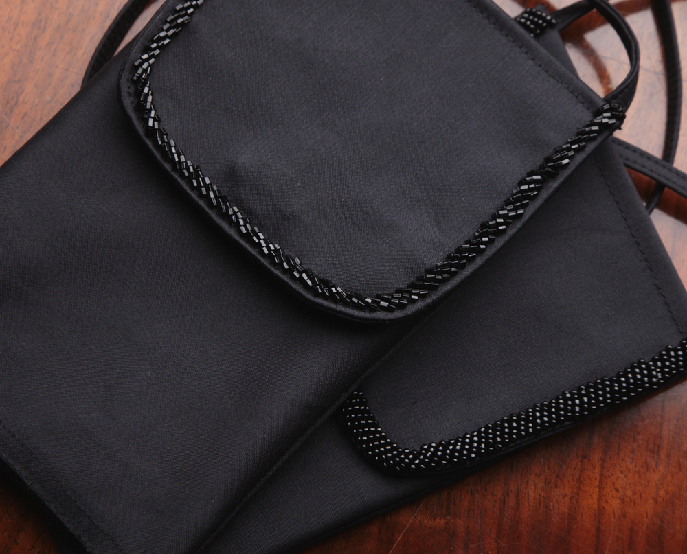 Phone Bag with Hand Beading