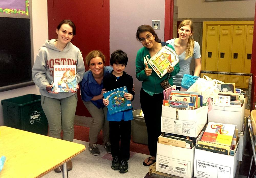 PHI Book Drive in Winchester Thurston School in Pittsburgh, PA