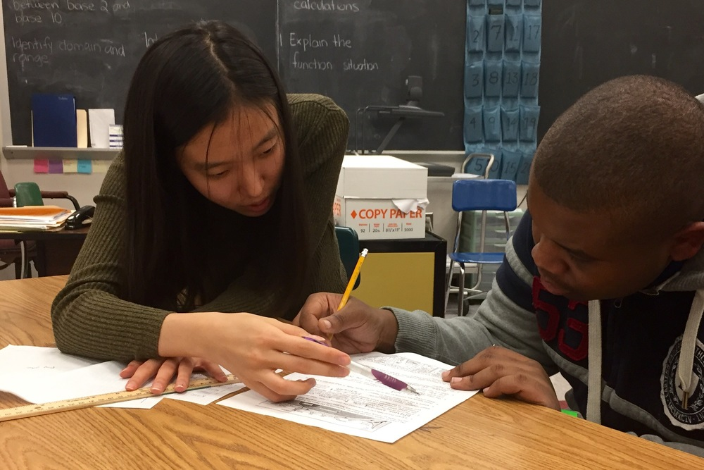 Danya tutoring for Social Studies at Brashear High School