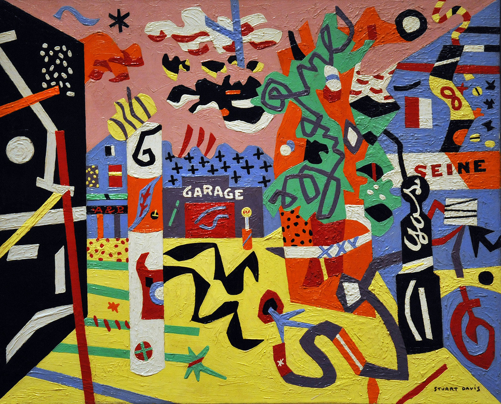 Stuart Davis. Early American Modern Painter.
