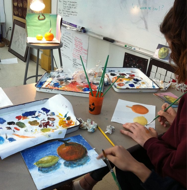 Student Work: Drawing and Painting