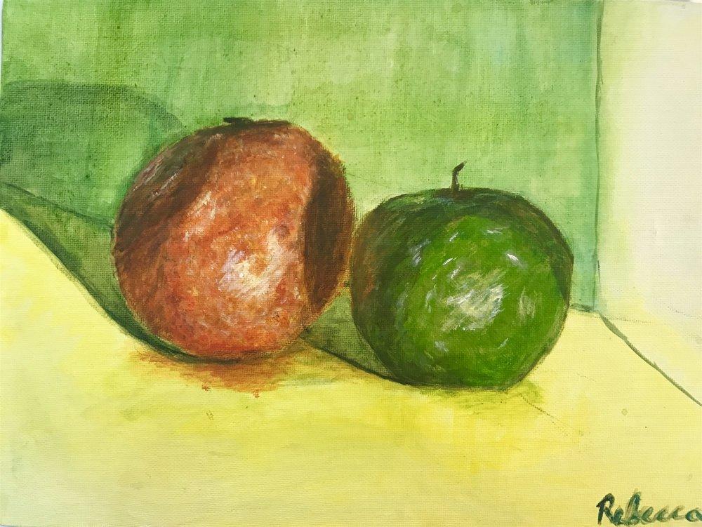 Student Still Life Painting
