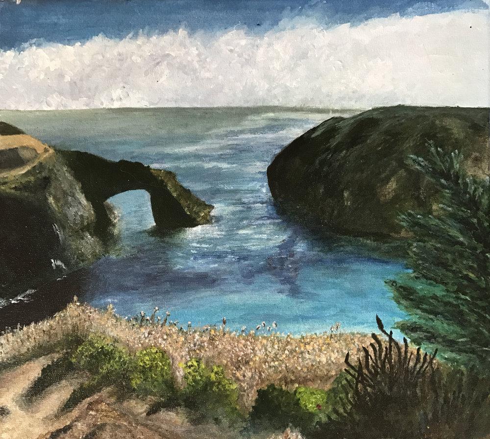 Student Landscape Painting