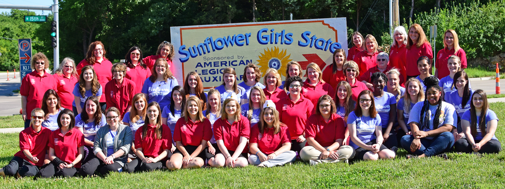 2016 ALA Sunflower Girls State Counselors & Staff