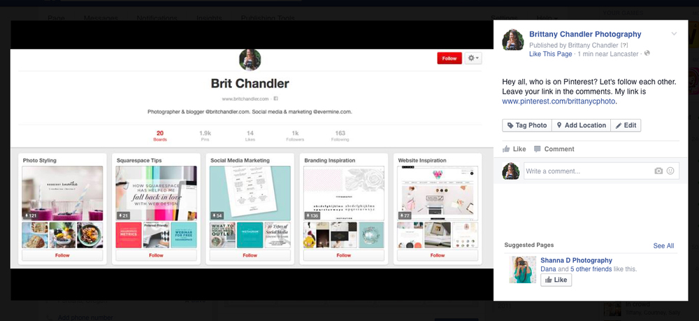 Tips for gaining pinterest followers by brit chandler.