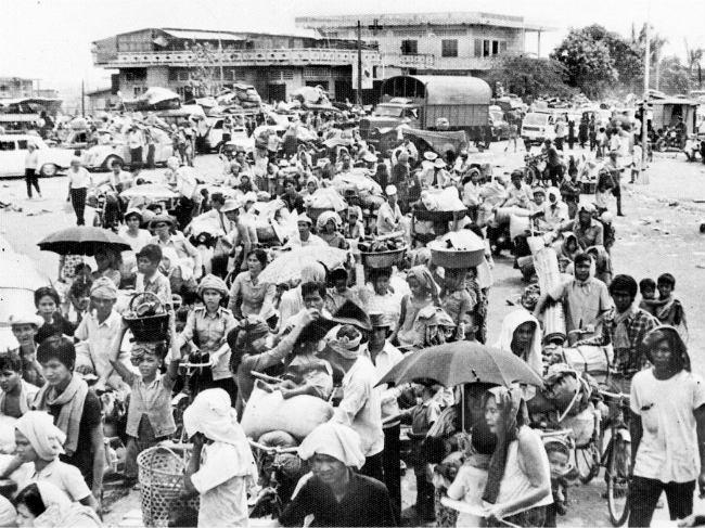 Evacuation of Phnom Penh, April 17, 1975