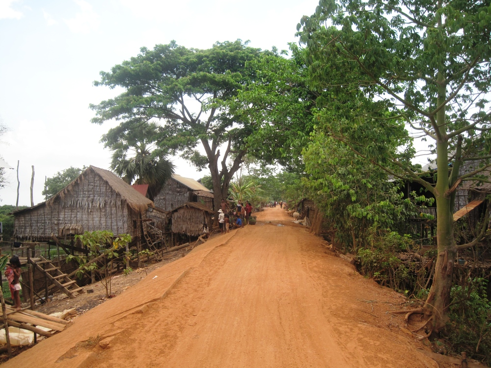 Cambodian road