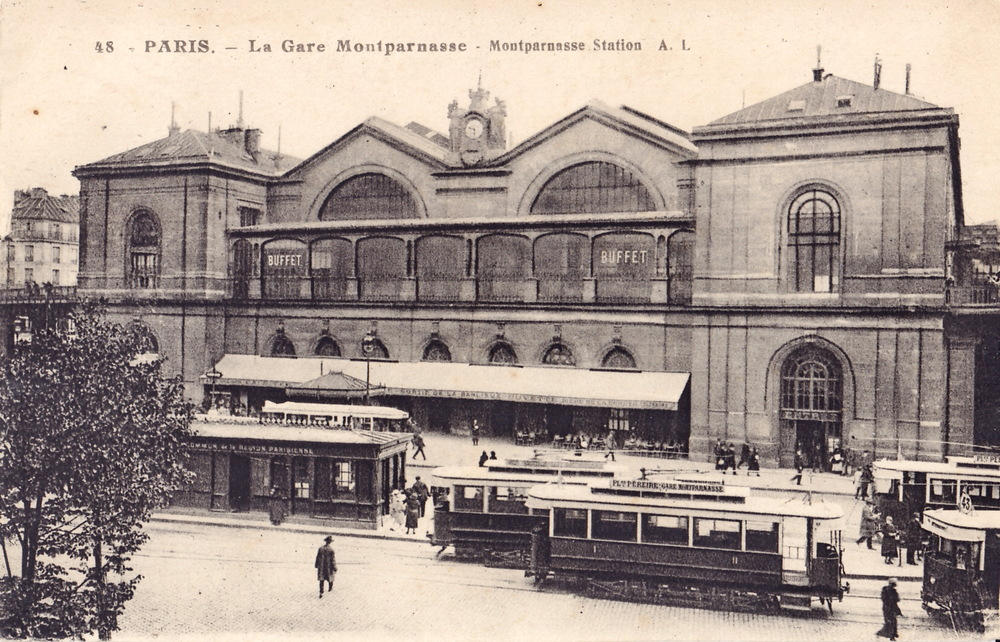 Gare Montparnasse between 1921 & 1937