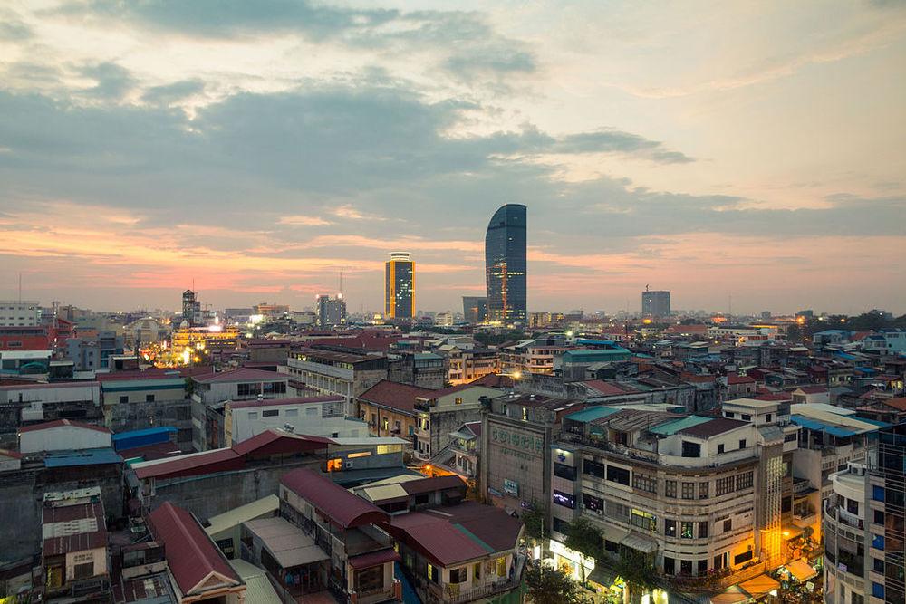 Phnom Penh cityscape