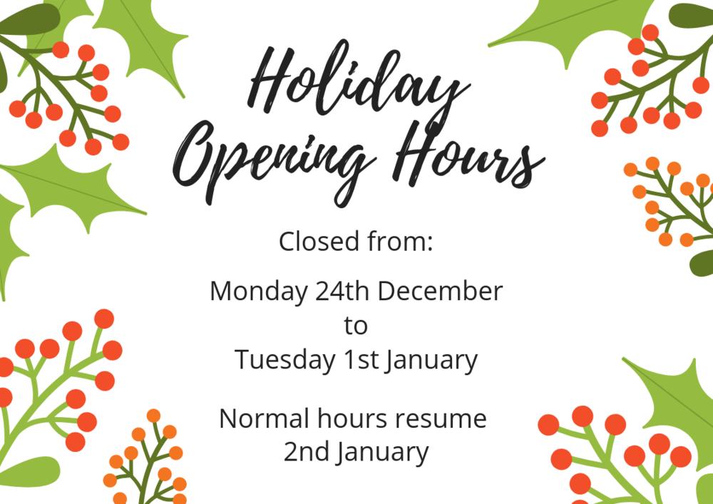 Bullcreek Optometrist Holiday Opening Hours