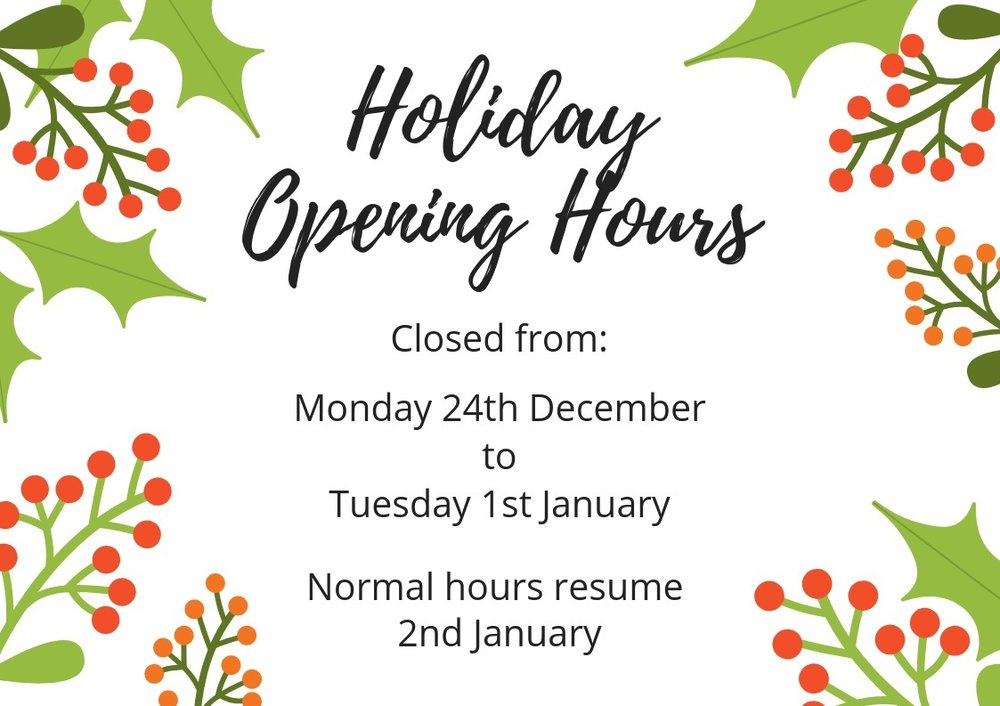 Bullcreek Optometrist Christmas Opening Hours
