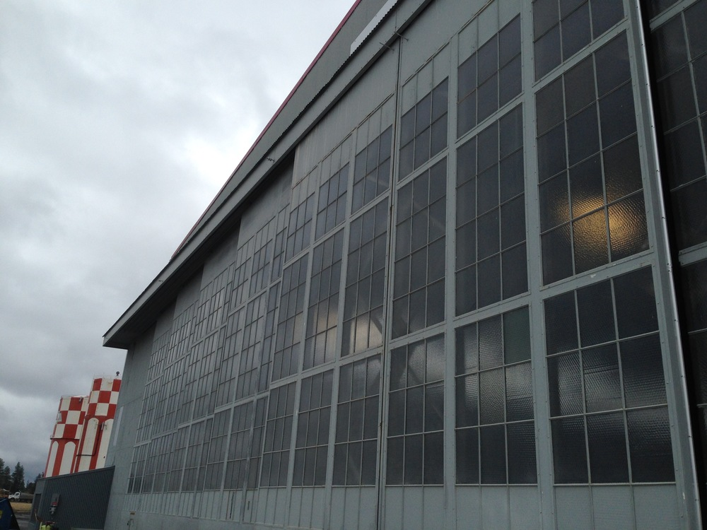 hangar doors refurbished