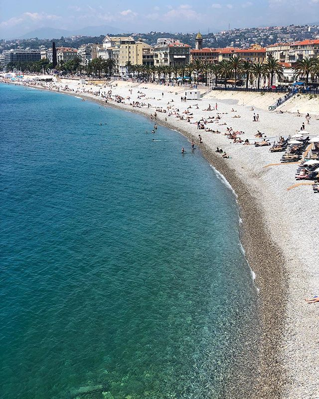 Summer Fridays. 😎🌊 #Nice #France #CarnivorrTravel