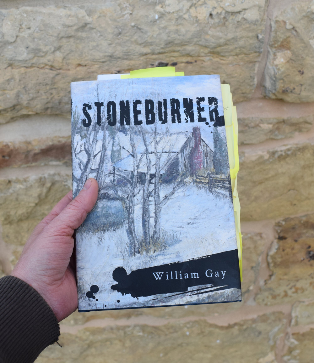 The second book proof of Stoneburner with all of my corrections and changes.