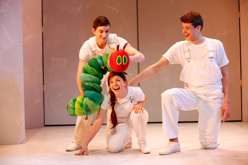 DR2 Theatre   The Very Hungry Caterpillar Show . Photos by Carol Rosegg.