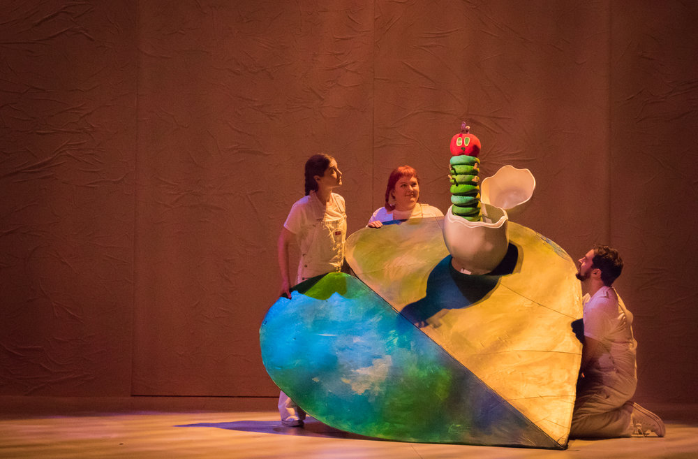 The Very Hungry Caterpillar Show (2018).  Photos by Owen Carey.