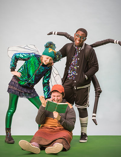 Diary of a Worm, a Spider, and a Fly (2019) . Photo by Owen Carey.
