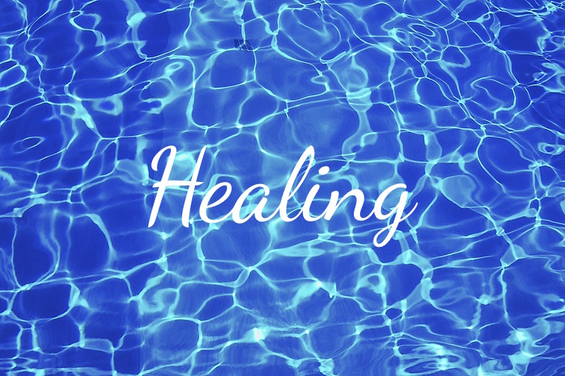 Healing. Surely Jesus bore our sicknesses and carried our pains. By His stripes we were healed!