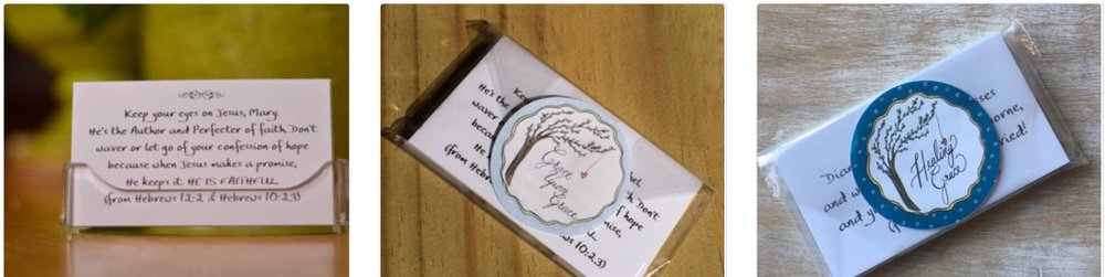 Order Grace Upon Grace personalized scripture cards through our Etsy store.  Click here.