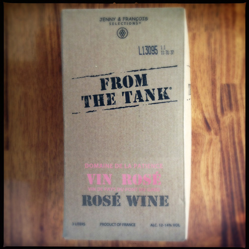 From The Tank Rosé Wine