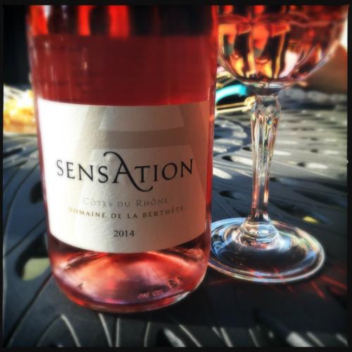 Sensation Rose Domaine Berthete 2014