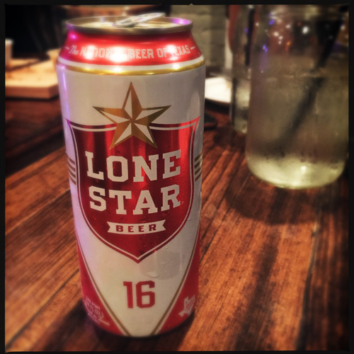Lone Star beer Frank's Austin