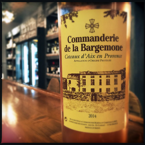Commanderie de la Bargenmone Rose