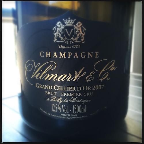 Champagne Vilmart 2007 magnum