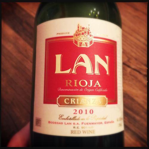 Lan Rioja Crianza 2010