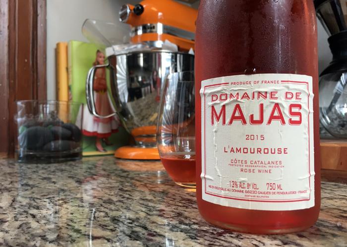 Domaine de Majas L'Amourouse Rose 2015 Cotes Catalanes