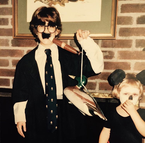Halloween night, 1985, Jacksonville, Florida. Groucho lives.
