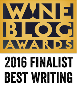 Wine Blog Awards Finalist Best Writing 2016